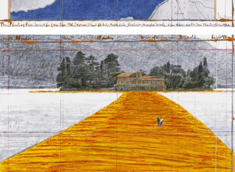 Pass The Floating Piers - Christo